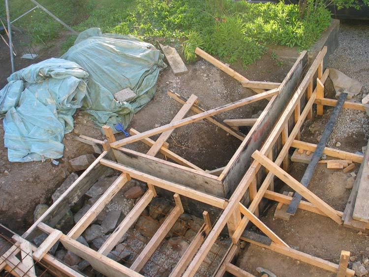 bygga gjutform betong